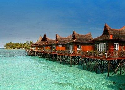 马布岛水上屋
